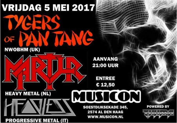 Musicon 5 mei 2017 TOTP en MARTYR