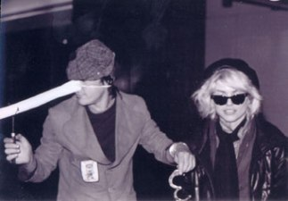 Wavis and Debbie Harry.