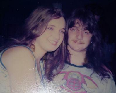 Sue Durey Wilkinson & Gordon Barden (1 of The Twins)