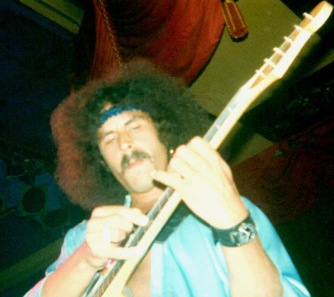Randy California at Newcastle Mayfair UK October 1979 supporting Gillan..