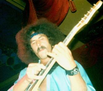 Randy California at Newcastle Mayfair UK October 1979 supporting Gillan..