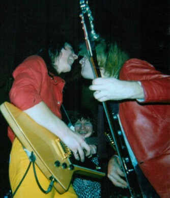 Stampede at Newcastle Mayfair UK November 1982 supporting Gary Moore.