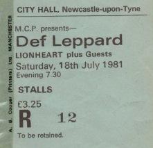 Tickets DL1