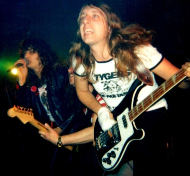Tygers of Pan Tang at Newcastle Mayfair UK September 1980.