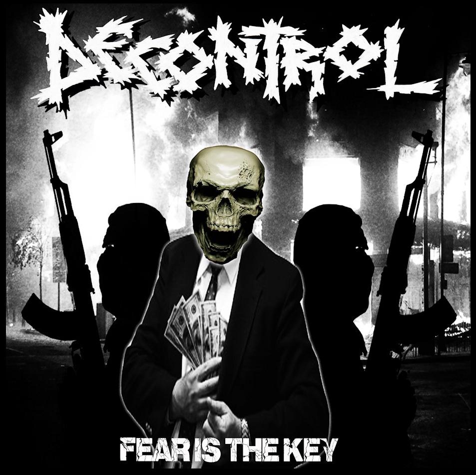 Decontrol-FearIsTheKey-Album-Sticker