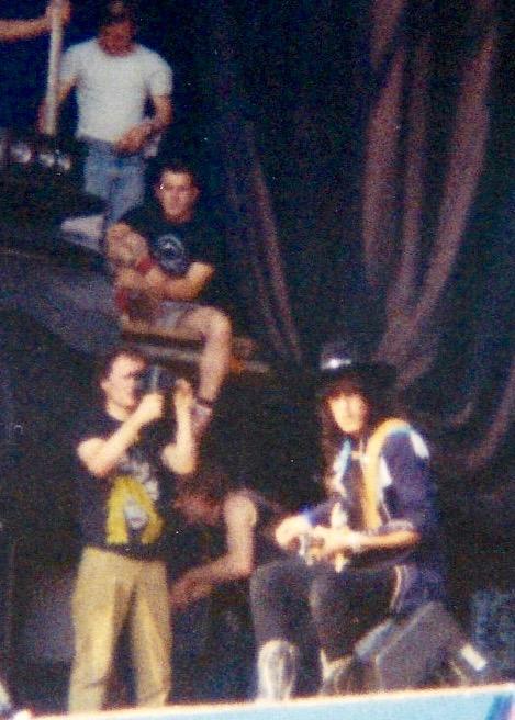 Hanoi Rocks, Reading Festival 1983.