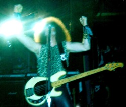Mark Mendoza, Twisted Sister, Newcastle Mayfair.