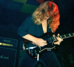 John Sykes, Tygers of Pan Tang Newcastle Mayfair 1980.