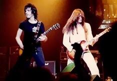 Gary Moore & Scott Gorham, Thin Lizzy 1980.