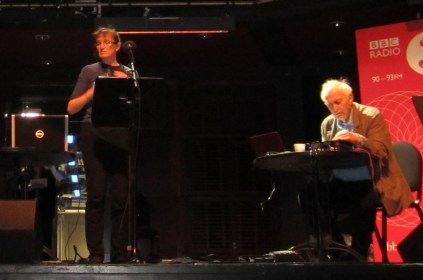Katrina with Peter Zinovieff at Sage Gateshead