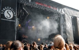 Wacken Festival stage.