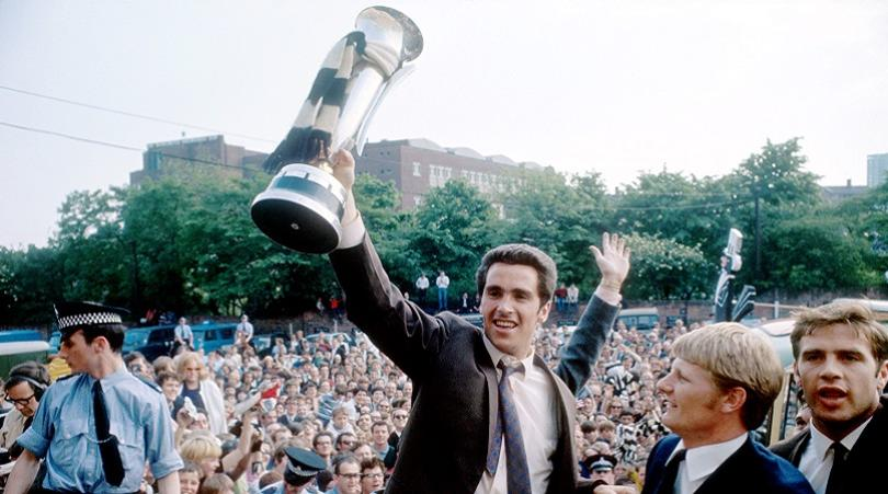 Soccer - Newcastle United Parade The Inter-Cities Fairs Cup