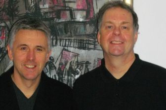 Writers Trevor Wood & Ed Waugh
