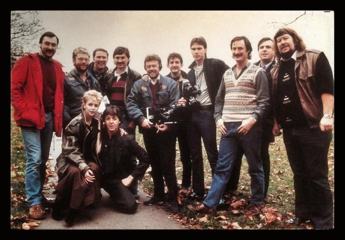 Tube Shot Lesley Ash _ Paul McCartney