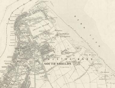 South Shields c. 1855