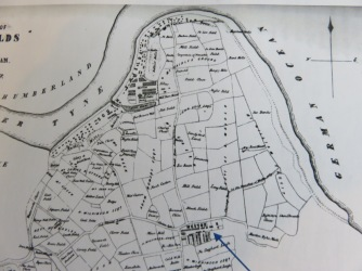 Map of South Shields 1768
