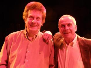 Joe Brown and Stan at The Forum, Billingham in 2009.
