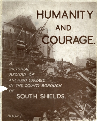 Front cover from one of the pamphlets.