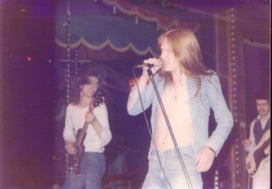 Sam with Moulin Rouge at Sunderland Locarno late 1970's.