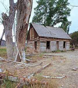 Butch Cassidy's boyhood home.