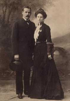 The Sundance Kid and Etta Place.